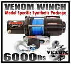 6000LB VENOM UTV WINCH KIT 2008-Current KUBOTA RTV500 & RTV400 Ci 6000 LB