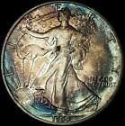 1990 American Silver Eagle Orig Toning Best Value From CherrypickerCoins 930