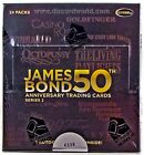 James Bond 50th Anniversary Series 2 Trading Cards Box (Rittenhouse 2012)