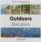 My First Bilingual Book Outdoors Polish english by Milet Publishing Russian