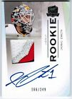 2009 10 UD THE CUP JONAS ENROTH AUTO PATCH RC ROOKIE RC 249 4 COLORS