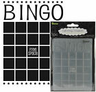 Darice Embossing Folders BINGO folder 1218 09 Cuttlebug Compatible All Occasion