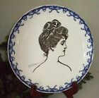 1900/1915 Royal Doulton Gibson Girl Portrait/Heads Series Ware A~RARE~#6 of 8