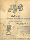 CASE VINTAGE 600  Series  TRACTORS PARTS MANUAL 1957  A616