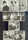 THREE 3 STOOGES,THE PARSSINE GROUP INC BLACK& WHITE LARGE SIZE STICKER SET OF 8