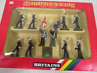 Britains #7202 The Royal Marines Colour Party 10pc. Boxed Set Metal MIB K144
