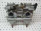 Arctic Cat Firecat 500 F5 Twin Mikuni Carburetor Rack Carbs Flatslide  TPS