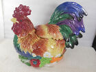 UNused Retired FITZ & FLOYD COQ DU VILLAGE ROOSTER SOUP TUREEN LID LADLE Chicken