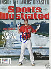 BRYCE HARPER (Nationals) Signed SPORTS ILLUSTRATED with PSA DNA COA (NO Label)