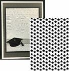 Darice Embossing Folders Tiny small STARS Folder 1218 62 Cuttlebug Compatible