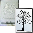 LEAFY TREE Embossing Folders CTFD3005 Crafts Too Cuttlebug Compatible folder