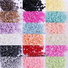 2000Pcs Half Pearl Round Bead Flat Back Scrapbook for Craft FlatBack 2 3 4mm