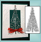 SNOWFLAKE TREE die MEMORY BOX 98405 dies Holidays Christmas All Occasion RETIRED