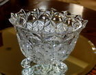 Beautiful 24% Lead Crystal ECHT BLEIKRISTALL Footed Dish Bowl - West Germany