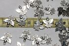 19mm Tibetan Style Pendant Angel Watching Over Me Charm Ant Silver 25pcs RS77