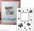 Butterfly Frame DARICE embossing folder 1215 67 insects Cuttlebug compatible New