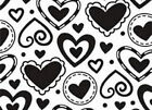 Darie embossing folders LAYERED HEARTS 1216 69 Valentines Cuttlebug Compatible