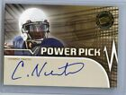 2011 PRESS PASS CAM NEWTON RC GOLD POWER PICK AUTOGRAPH #205 250 PANTHERS