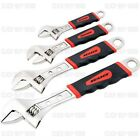 4 PIECE HEAVY DUTY ADJUSTABLE SPANNER WRENCH SET SPANNERS 6