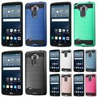 For LG G Stylo LS770 G4 Stylus Hybrid Shockproof Armor Protector Hard Case Cover