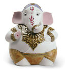 LLADRO GANESHA BRAND NIB 9150 HINDU RELIGION GOD ELEPHANT COLORFUL SAVE$ F/SH