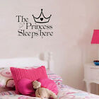 Nice Princess Removable Wall Sticker Girls Bedroom Decor Baby Room Decal Art