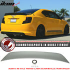 11 15 TC RS Style Painted  1F7 Classic Silver Metallic Trunk Spoiler ABS