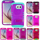ShockProof Impact Rubber Soft Hard Pink GLITTER Armor Cover Case for Cell Phones