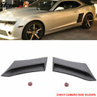 Fits 10 15 Chevy Camaro Xenon Style Side Rear Fender Vent Scoop Unpainted PU 2PC