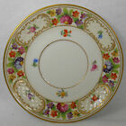 SCHUMANN Bavaria china EMPRESS DRESDEN FLOWERS Saucer for Cream Soup Bowl