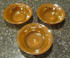 Fireking Fire-King Oven Ware Orange Peach Lustre Berry Dessert Bowls Wheat 9