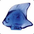 LALIQUE CRYSTAL SAPPHIRE BLUE FISH 3000300 BRAND NIB WATER FRENCH SAVE F SH