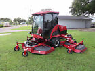 Toro 580 D Groundsmaster 16 ft Rotary Mower WAM 2594 hrs Cab Heat - AC
