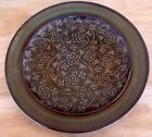 VTG Franciscan Madeira Interpace Earthenware Dinner Plate Brown