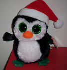 Ty Beanie Boos ~ IGLOO the Holiday Penguin (Regular Size ~ 6 Inch) NEW MWMT
