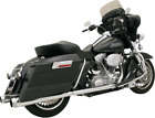 Bassani Chrome 4 True Dual Motorcycle Exhaust 89 16 Harley Touring Bagger FLHXS