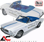 AUTOWORLD AW209 118 1964 1 2 FORD MUSTANG 289 INDY 500 PACE CAR DIECAST MODEL