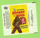 #D236. SCANLENS 1975 PLANET OF THE APES CARDS WAX WRAPPER