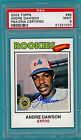 2003 Topps Shoe Box Collection Andre Dawson Auto Issue #69 PSA 9! POP 1! Expos!