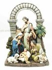 The Holy Family Nativity Scene Jesus With Shepherd Boy Slim Profile Figurine