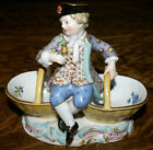 19th Century Meissen Porcelain Boy Sweetmeat Dish * Figurine #3024 Germany