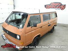 Volkswagen Bus Vanagon Runs Drives Great Interior Complete Camp Today 1983 orange runs drives great interior complete camp today