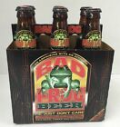 RARE! Complete Bad Frog Beer 6-pack With Empty Bottles & Caps Very Nice Man Cave
