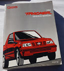 1992 Chevy Geo Tracker Factory Service Shop Manual from dealership