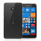 Yousave Accessories Ultra Thin Silicone Phone Case Cover For Microsoft Lumia 640