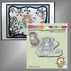 Stampendous House Mouse stamps Gifts to Tie rubber Stamp Christmas Birthday