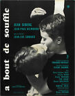 Breathless A bout de souffle 1960 Jean Luc Godard 11 movie poster 24x32 inches