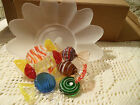 Avon Gift Collection's European Style Glass Candy with Dish