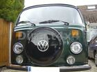 VW Camper Stainless Steel Wheel Tyre Heavy Duty Cover And Centre Dish In Silver