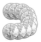 2016 American Silver Eagle Coin (BU, Lot of 10)